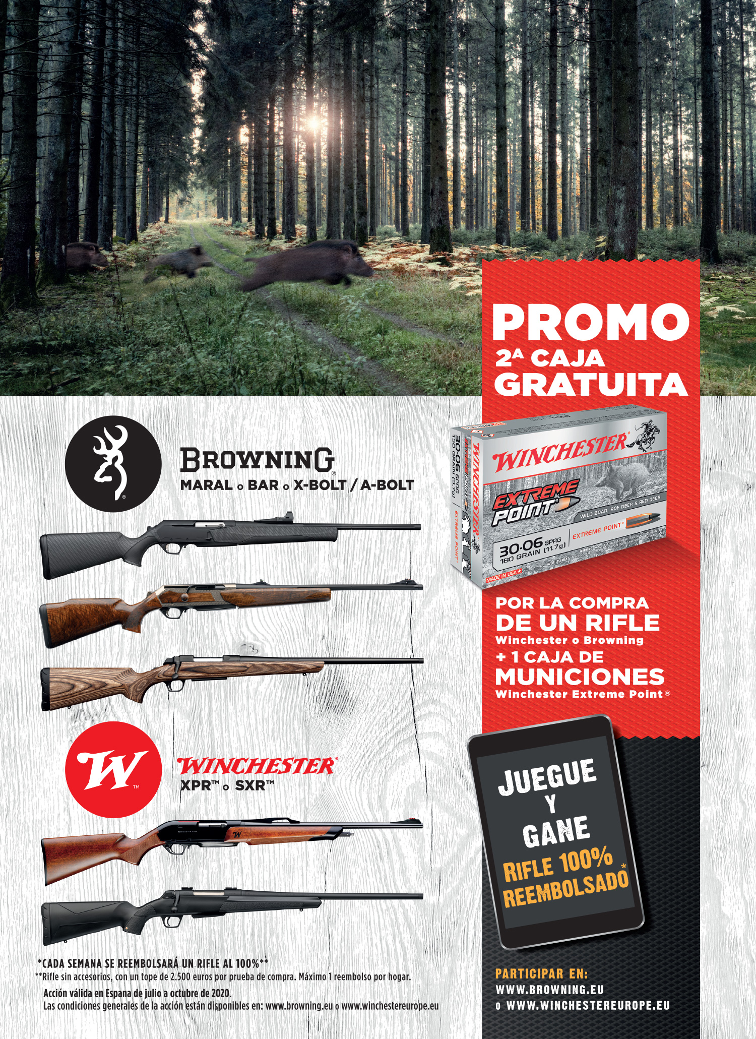 promo 2a caja de municiones gratuita